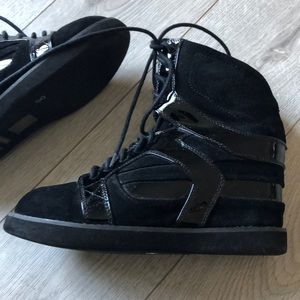 Jeffrey Campbell high wedge sneakers